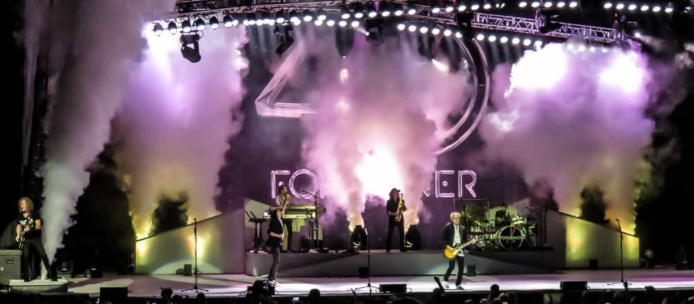 9ac0921f71e5 Foreigner was in town Saturday night to bring their 40th Anniversary Summer  Tour ...