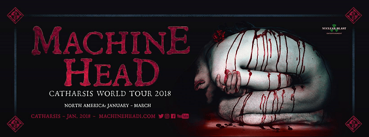 machine head announce 2018 north american world tour dates tickets on sale this friday. Black Bedroom Furniture Sets. Home Design Ideas