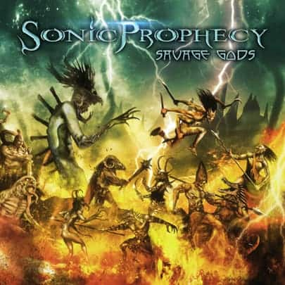SONIC PROPHECY Savage Gods Cover Photo