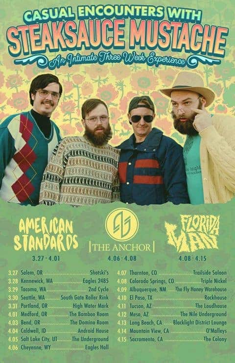 American Standards Announce 2018 Tour