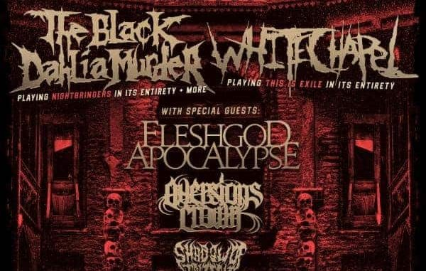THE BLACK DAHLIA MURDER And WHITECHAPEL