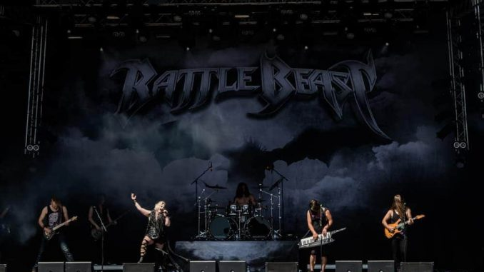 Battle Beast Sweden Rock Festival 2018