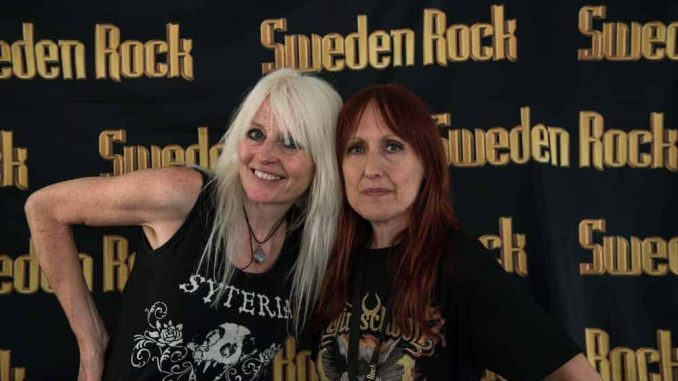 Girlschool Sweden Rock Festival 2018