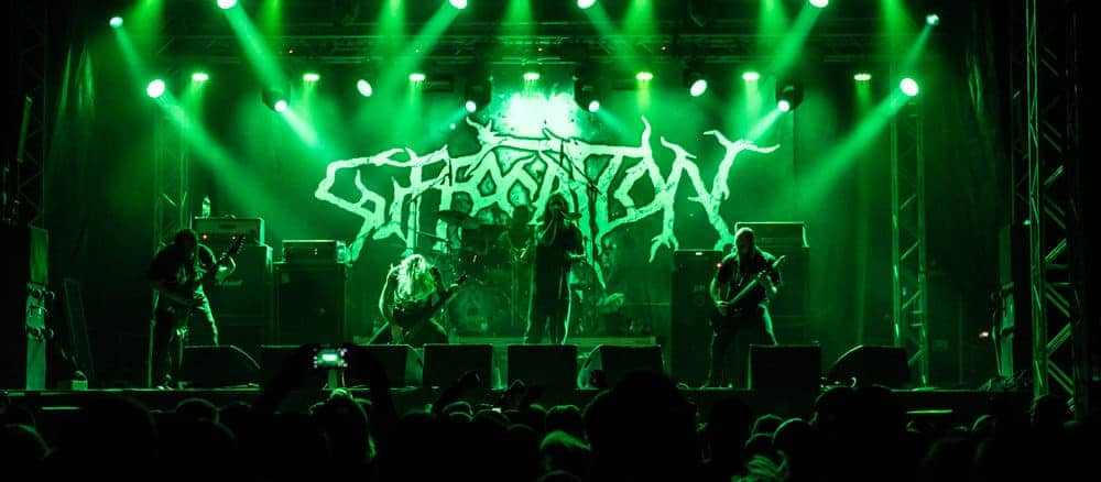 Suffocation Sweden Rock Festival 2018