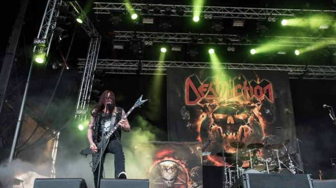 Destruction Sweden Rock Festival 2018